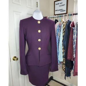 SALE Vintage Christian Dior Wool Skirt Set | 4